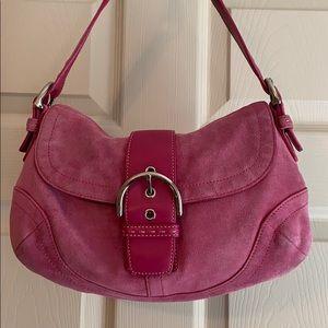 Coach Soho Pink Shoulder Bag
